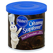 Pillsbury Creamy Supreme Dark Chocolate Frosting