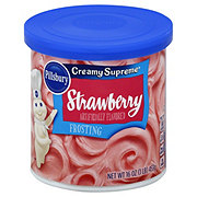 Pillsbury Creamy Supreme Strawberry Frosting