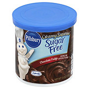Pillsbury Creamy Supreme Sugar Free Chocolate Fudge Frosting