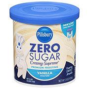 Pillsbury Creamy Supreme Sugar Free Vanilla Frosting
