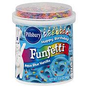 Pillsbury Funfetti Aqua Blue Vanilla Frosting