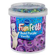Pillsbury Funfetti Bold Purple Vanilla Frosting