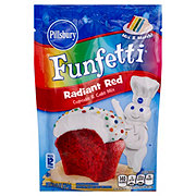 Pillsbury Funfetti Radiant Red Cupcake & Cake Mix