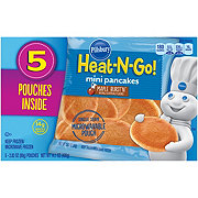 Pillsbury Heat-n-go Mini Pancakes Maple Burst'n