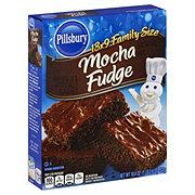 Pillsbury Mocha Fudge Brownie Mix Family Size