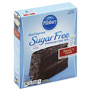 Pillsbury Moist Supreme Sugar Free Devil's Food Cake Mix
