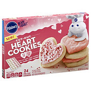 Pillsbury Ready to Bake Heart Valentines Cookies