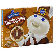 Pillsbury Ready To Bake! Turkey Shape Sugar Cookies