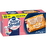 Pillsbury Toaster Strudel Cream Cheese and Strawberry Pastries Value Size