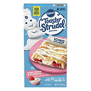 Pillsbury Toaster Strudel Cream Cheese & Strawberry Pastries