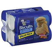 Pillsbury Value Pack Buttermilk Biscuits 4 7 5 Oz Cans