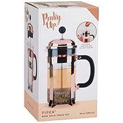 Pinky Up Piper Rose Gold Press Pot