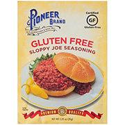 Pioneer Brand Gluten Free Sloppy Joe Seasoning