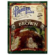 Pioneer Brand No-Fat Brown Gravy Mix