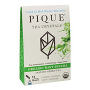 Pique Tea Crystals Mint Sencha Organic Green Tea