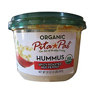 Pita Pal Organic Spicy Red Pepper Hummus