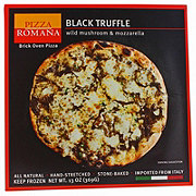 Pizza Romana Black Truffle with Wild Mushroom & Mozzarella