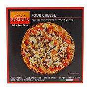 Pizza Romana Four Cheese with Mushroom & Tropea Onion
