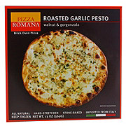 Pizza Romana Roasted Garlic Pesto with Gorgonzola & Walnut