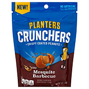 Planters Crunchers Mesquite Barbecue Coated Peanuts
