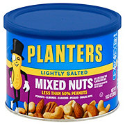 Planters Lightly Salted Mixed Nuts with Less Than 50% Peanuts