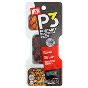 Planters P3 Chipotle Peanuts Beef Jerky & Sunflower Kernels Portable Protein Pack