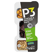 Planters P3 Honey Peanuts & Jerky & Sunflower Kernels Portable Protein Pack
