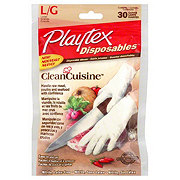 Playtex Clean Cuisine Disposable Large Gloves