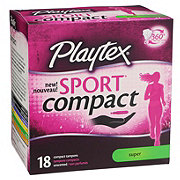 Playtex Sport Compact Super
