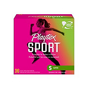 Playtex Sport Plastic Super Absorbency Unscented Tampons