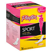 Playtex Sport Ultra Thin Long Pads