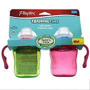 Playtex TrainingTime Soft Spout 6 OZ Training Cups, Assorted Colors