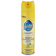 Pledge Lemon Enhancing Polish Spray