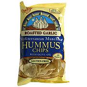 Plockys Mediterranean Munchies Hummus Chips Roasted Garlic