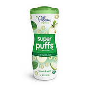 Plum Organics Baby Super Greens Spinach & Apple Super Puffs