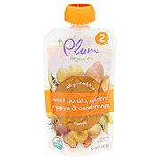 Plum Organics Baby Sweet Potato Apricot Papaya Cardamom