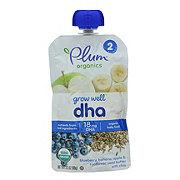 Plum Organics Grow Well - DHA Blueberry, Banana, Apple, Sunflower Seed Butter with Chia