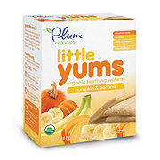 Plum Organics Little Yums Pumpkin and  Banana Teething Wafers