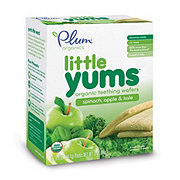 Plum Organics Little Yums Spinach, Apple and Kale Teething Wafers