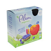 Plum Organics Mashups Applesauce with Blueberry & Carrot Pouches