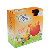 Plum Organics Mashups Applesauce with Carrot & Mango Pouches
