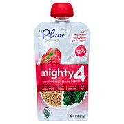 Plum Organics Mighty 4 Kale, Strawberry, Amaranth and Greek Yogurt Baby Food