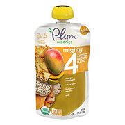 Plum Organics Mighty 4 Mango Pineapple White Bean Squash & Oats