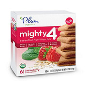 Plum Organics Mighty 4 Strawberry with Spinach  Nutrition Bar