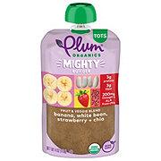 Plum Organics Mighty Protein & Fiber Banana White Bean Strawberry & Chia