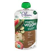 Plum Organics Mighty Veggie Zucchini, Apple, Watermelon, & Barley