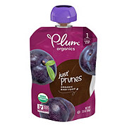 Plum Organics Stage 1 Just Prunes Baby Food