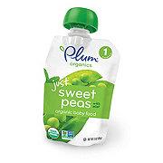 Plum Organics Stage 1 Just Sweet Peas With Mint Baby Food