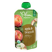Plum Organics Stage 2 Broccoli & Apple Baby Food