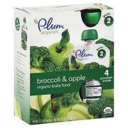 Plum Organics Stage 2 Broccoli Apple